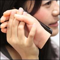 creepy iphone love hand