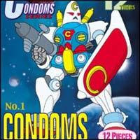Anzen Senshi Condoms for Super Robot Penis
