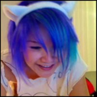 Code Monkey Like Fritos and Omisuki Live Blue-Haired Anime Kitten Girl