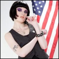Annika Cruz Altmodel American Flag