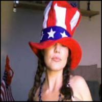 Aria Cruz Uncle Sam Hat