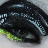 Spooky Neon Makeup