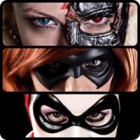 Superhero Cosplay Photography Masks