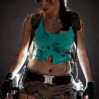 Lara Croft Superhero Cosplay Photography