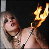 Deathrock Firebreather Franccesca De Struct