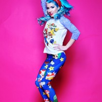 Living Dead Clothing Nerdy Leggings