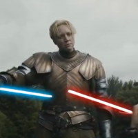 Game of Thrones Light Saber Fight