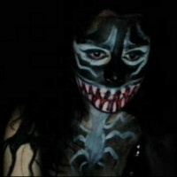 Kickaz Does a Sexy Creepy Cosplay Venom