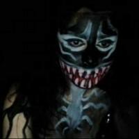 Kickaz Does a Sexy Creepy Cosplay Venom
