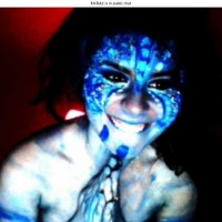 Kickaz in Avatar Full Bodypaint