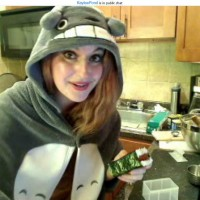 Kaylee Pond Totoro Cooking Spam Musubi