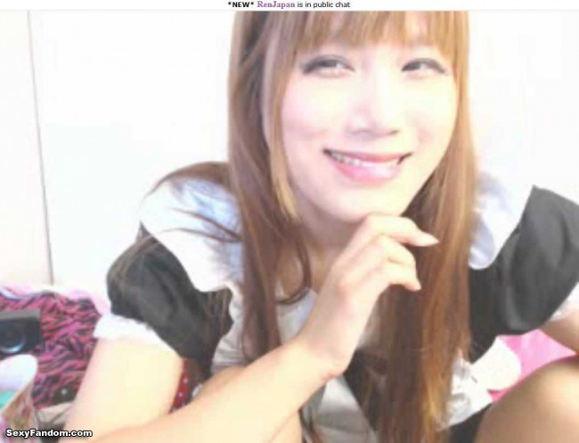 ren japan cam cute