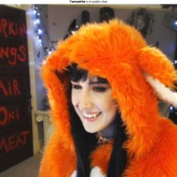 Furry Vampette Says You Can Adopt a Fox