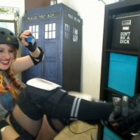 Rollerderby Babe Kaylee Pond