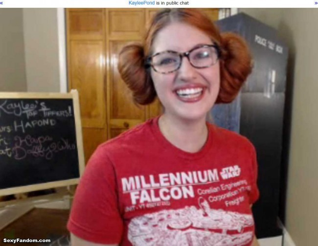 Kaylee Pond Princess Leia Hair