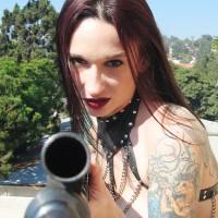 Lori the Gory has the shotgun blues