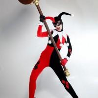 Harley Quinn hammers away