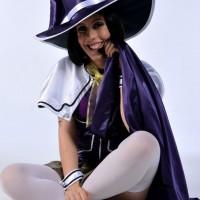 Yukari Sendo is fantastic in purple