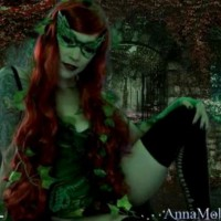 The ultra-gifted Anna Molli as Poison Ivy