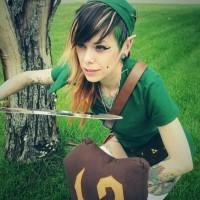 Link on Link Zelda Live Couple