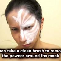 Ichigo Hollow Mask Tutorial