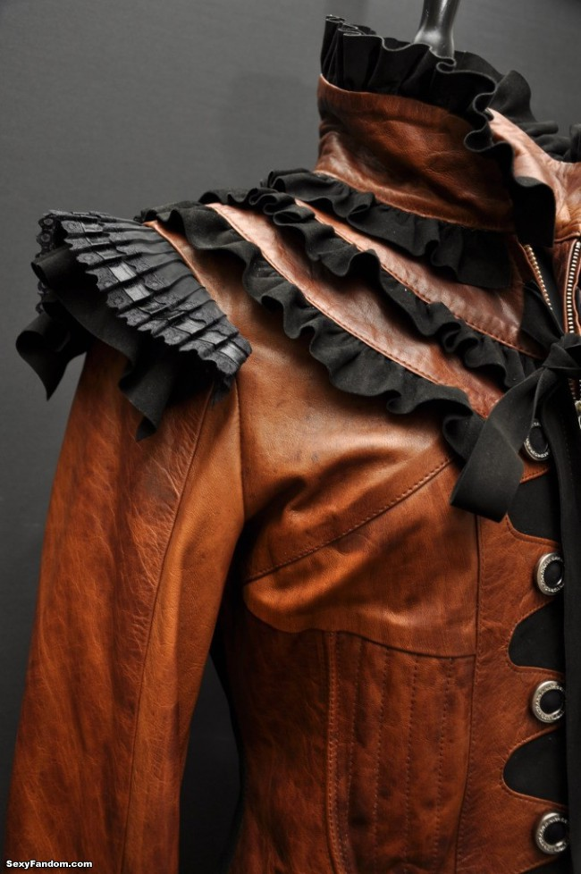 impero london steampunk leather jacket