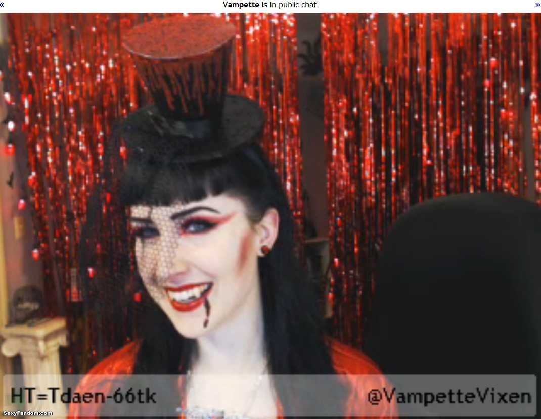 vampette circus vampire cam
