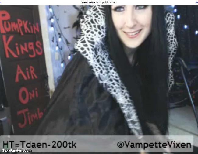 vampette spider queen cam