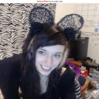 Katsumi Chann Lace Goth Kitty Ears
