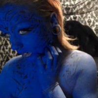 Sexy MarilynJane As Mystique Cosplay
