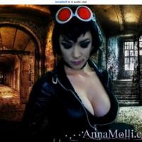 Bodacious Catwoman Anna Molli