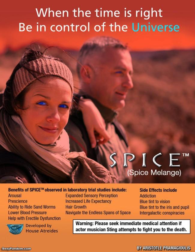 dune spice melange aristotle pramagioulis blue eyes poster