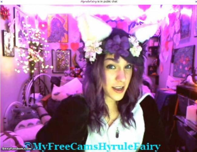 hyrulefairy kitty cam