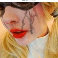 Crying Harley Quinn