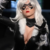 Black Cat  by Riddle's Messy Wardrobe