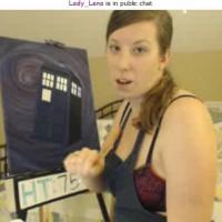 (Time) Lady Lena's TARDIS