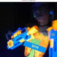 Neon Nerf Gun Future Rave Pumpkin Spice