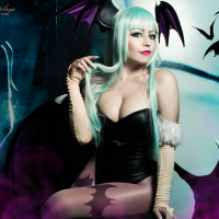 Morrigan Aensland by Plu Moon