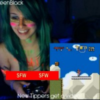 Let's Play Night With GweenBlack