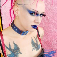 Roxy Contin's Pink Punk Power