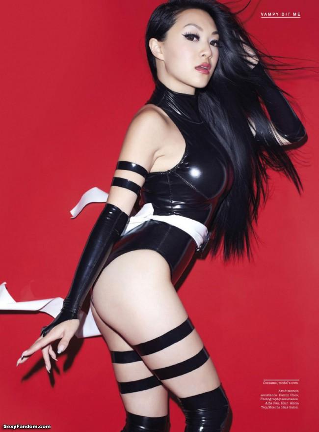 Vampy's Psylocke Cosplay for FHM