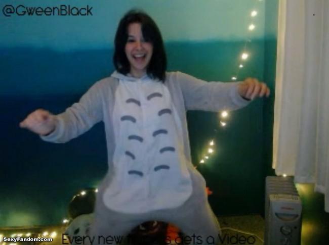 GweenBlack is My Sexy Friend Totoro