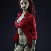Poison Ivy from Batman Arkum