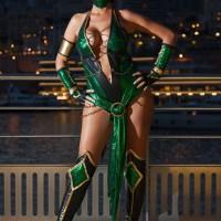 Mortal Kombat Jade looks so good!