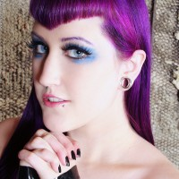 Black and Blue Ecstasy With Natalie Addams