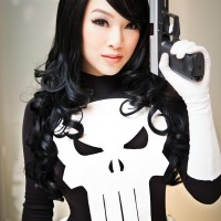 The Punisher is Ready to Punish: Cosplay by Vamp Beauty