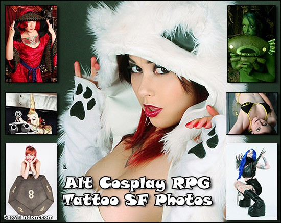 Alt Cosplay RPG Tattoo SF Photography Collection
