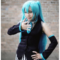 Vocaloid Miku Joker by Beethy