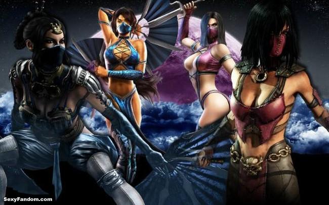 Mortal Kombat X's Kitana and Mileena