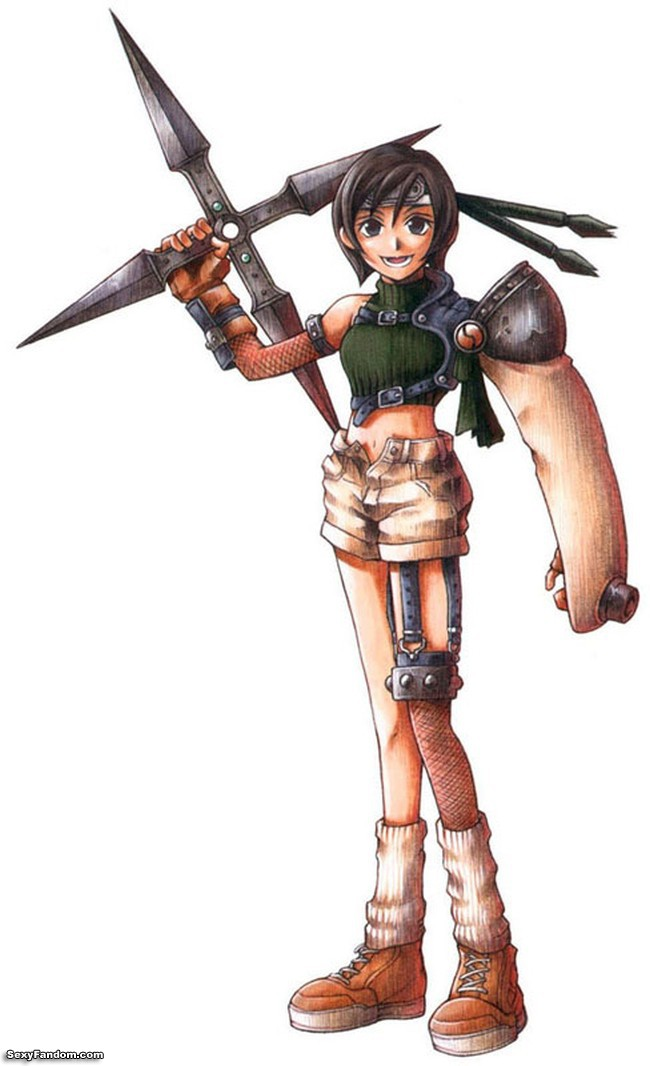 Final Fantasy 7's Yuffie